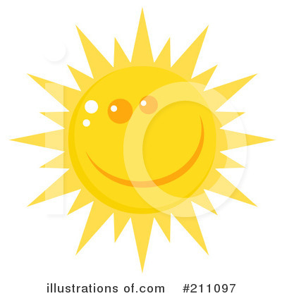 Sun Clipart #211097 by Hit Toon