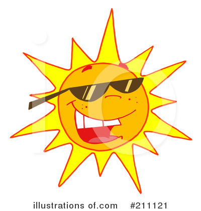 Sun Clipart #211121 by Hit Toon