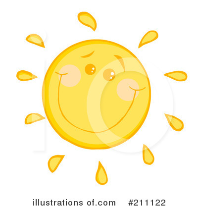 Sun Clipart #211122 by Hit Toon