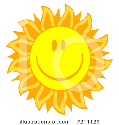 Sun Clipart #211123 by Hit Toon