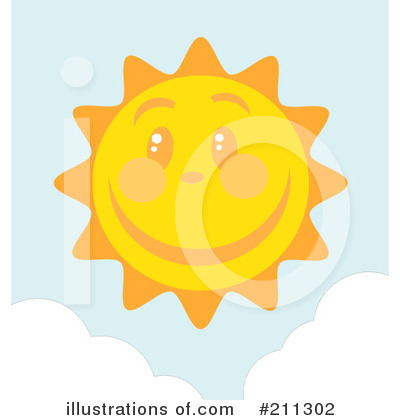 Sun Clipart #211302 by Hit Toon
