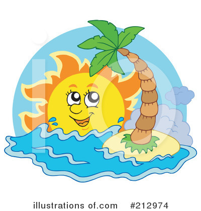 Island Clipart #212974 by visekart