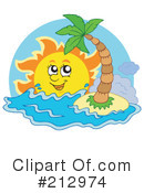 Royalty-Free (RF) Sun Clipart Illustration #212974