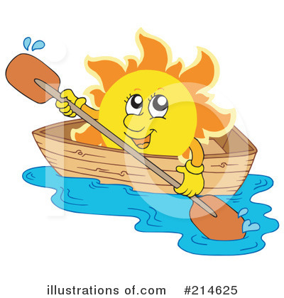 Royalty-Free (RF) Sun Clipart Illustration by visekart - Stock Sample #214625
