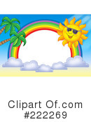 Royalty-Free (RF) Sun Clipart Illustration #222269