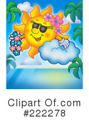 Sun Clipart #222278 by visekart