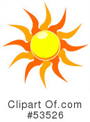 Sun Clipart #53526 by David Barnard