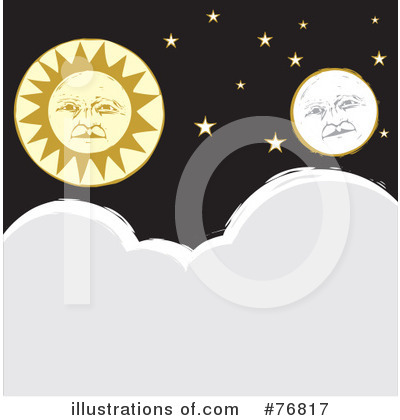 Moon Clipart #76817 by xunantunich