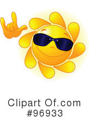Sun Face Clipart #96933 by Pushkin