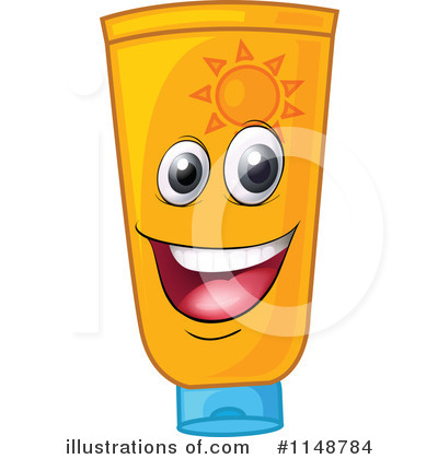 Sunblock Clipart #1148784 by Graphics RF
