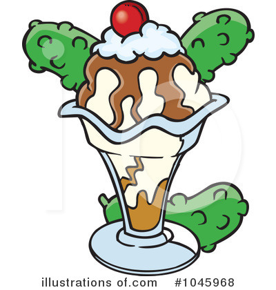 Ice Cream Clipart #1045968 by toonaday