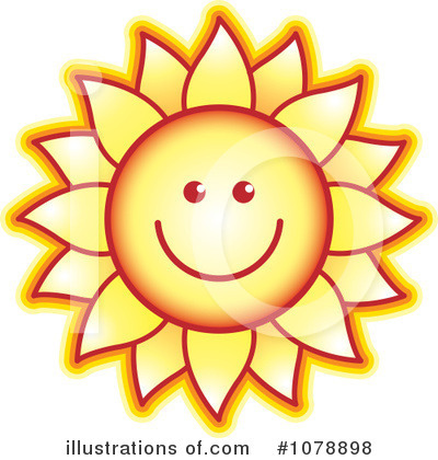 Sunflower Clipart #1078898 by Lal Perera