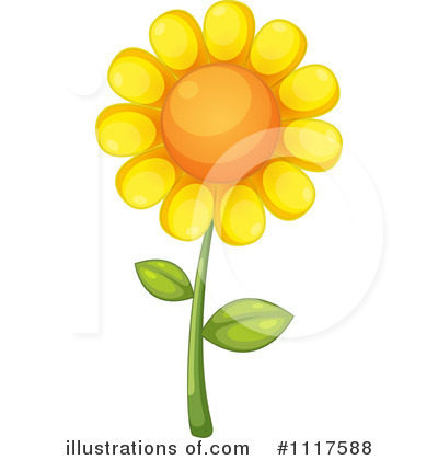 Sunflower Clipart #1117588 by Graphics RF