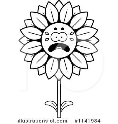 Sunflower Clipart #1141984 by Cory Thoman