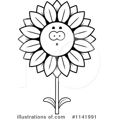 Sunflower Clipart #1141991 by Cory Thoman