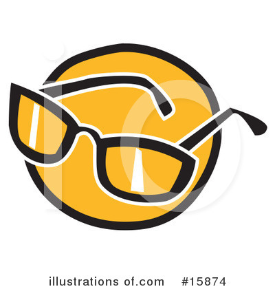 Clip Art Sunglasses. Sunglasses Clipart #15874 by