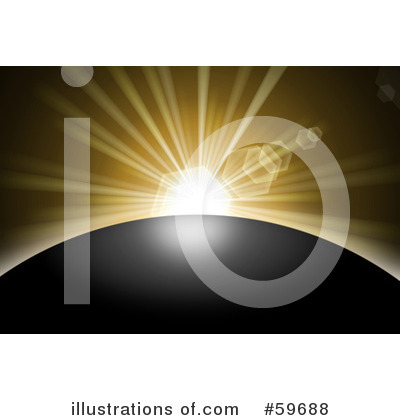 Sunrise Clipart #59688 by oboy | Royalty-Free (RF) Stock Illustrations
