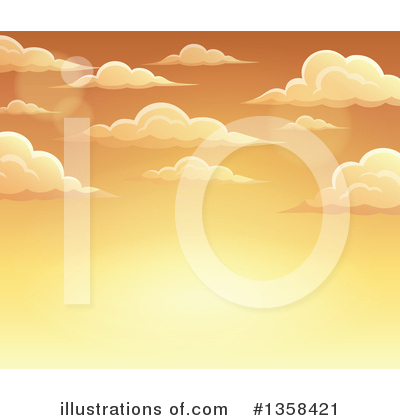 Sky Clipart #1358421 by visekart