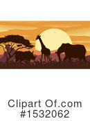 Sunset Clipart #1532062 by Graphics RF