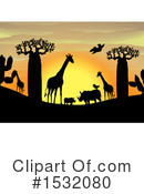 Sunset Clipart #1532080 by Graphics RF