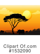 Sunset Clipart #1532090 by Graphics RF