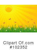 Royalty-Free (RF) Sunshine Clipart Illustration #102352