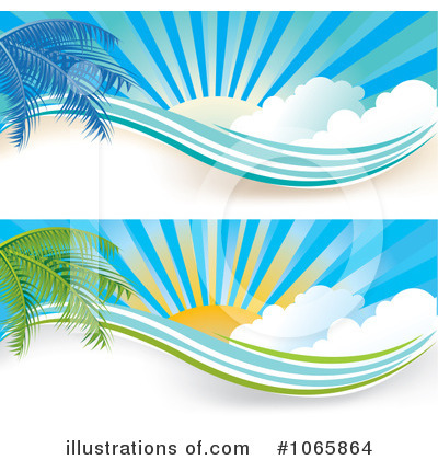 Palm Tree Clipart #1065864 by MilsiArt