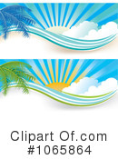 Royalty-Free (RF) Sunshine Clipart Illustration #1065864