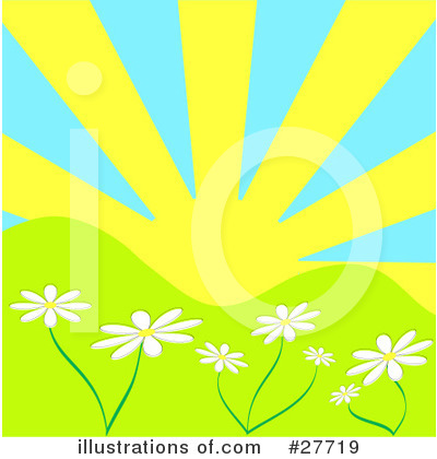Daisies Clipart #27719 by KJ Pargeter