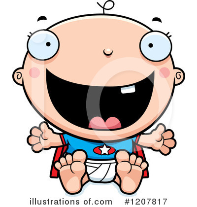 Baby Clipart #1207817 by Cory Thoman