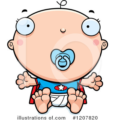 Baby Clipart #1207820 by Cory Thoman
