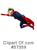 Super Guy Character Clipart #57359 by Julos