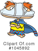Royalty-Free (RF) Super Hero Clipart Illustration #1045892