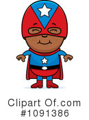 Super Hero Clipart #1091386 by Cory Thoman