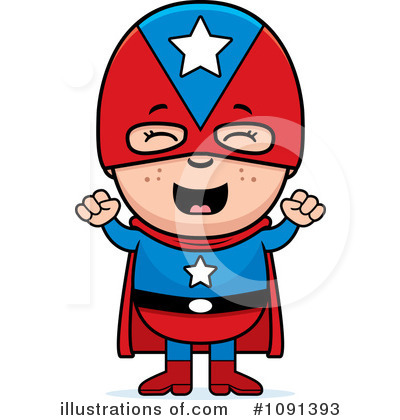 Super Hero Clipart #1091393 by Cory Thoman
