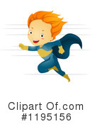 Royalty-Free (RF) Super Hero Clipart Illustration #1195156