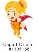 Royalty-Free (RF) Super Hero Clipart Illustration #1195166