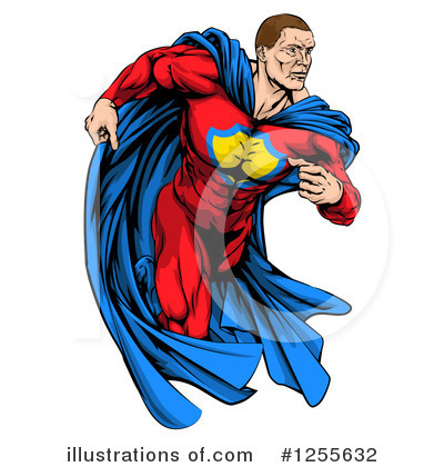 Super Hero Clipart #1255632 by AtStockIllustration