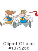 Super Hero Clipart #1379266 by Johnny Sajem