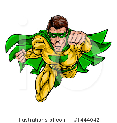 Super Hero Clipart #1444042 by AtStockIllustration