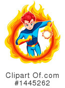 Royalty-Free (RF) Super Hero Clipart Illustration #1445262