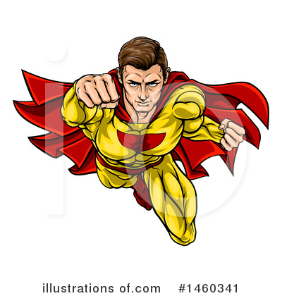 Super Hero Clipart #1460341 by AtStockIllustration