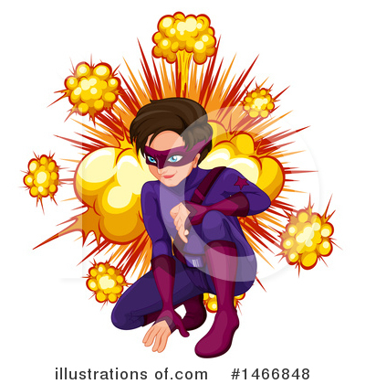 Super Hero Clipart #1466848 by Graphics RF