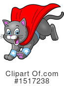 Super Hero Clipart #1517238 by Clip Art Mascots