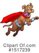 Super Hero Clipart #1517239 by Clip Art Mascots
