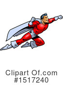 Super Hero Clipart #1517240 by Clip Art Mascots