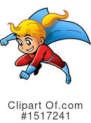 Super Hero Clipart #1517241 by Clip Art Mascots