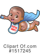 Super Hero Clipart #1517245 by Clip Art Mascots