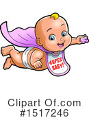 Super Hero Clipart #1517246 by Clip Art Mascots