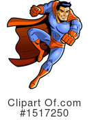 Super Hero Clipart #1517250 by Clip Art Mascots